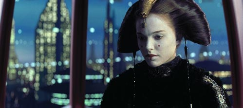 Amidala Worried about her people on Naboo